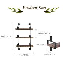 rustic standing wall shelves diy ladder bookcase storage floating