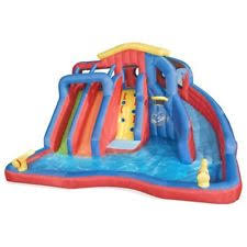 Backyard Bounce Water Slides For Backyard Inflatable Bounce House Pool Games Kids