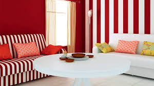 Striped Sofas Living Room Furniture by Incredible Living Room Interior Decorating Ideas With White Red