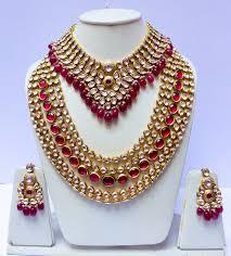 bridal jewellery beautiful kundan bridal jewellery set pinkpeacock