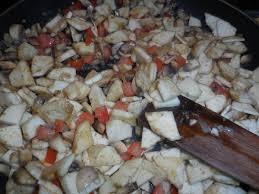 faire revenir en cuisine aubergines farcies gratinees toc cuisine fr