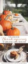 outdoor thanksgiving outdoor thanksgiving table ideas fall back patio tour