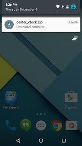 center android how to center the status bar clock in android lollipop nexus