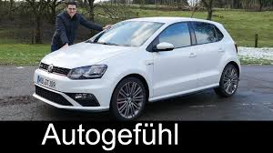 new volkswagen 2016 2015 2016 new volkswagen polo gti facelift test drive review vw