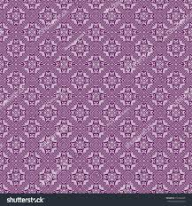 different color purples fashion geometric seamless pattern different geometric stock