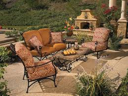 Wrought Iron Patio Table Set by Divine Garden Furniture Design Cool Outdoor Wrought Iron Patio