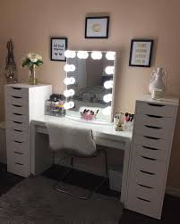 double vanity with makeup station but first mascara who else wants to get ready for their saturday
