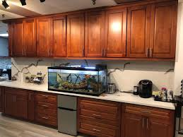 light cherry kitchen cabinets and granite ocg building supply