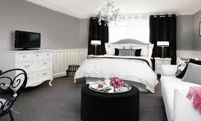 chambre moderne noir et blanc décoration chambre moderne noir blanc gris 32 grenoble dressing