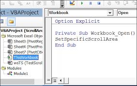 prevent scrolling on excel worksheet contextures blog