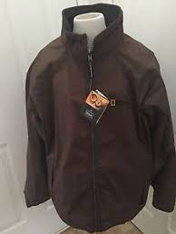 brown collection national geographic travel collection mens coat jacket reversible