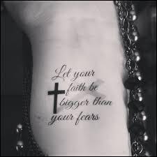 temporary religious faith cross quote