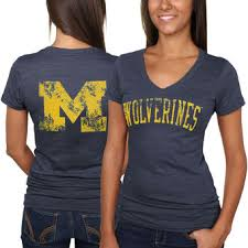 michigan wolverines fan gear michigan wolverines ladies apparel university of michigan womens