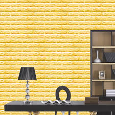 60x60cm pe foam natural wall stickers patterns 3d wallpaper diy