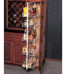 rolling shelves for kitchen cabinets kitchen endearing white stained wooden storage pantry cabinet