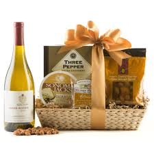 country wine basket kendall jackson chardonnay wine gift basket wine