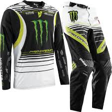custom motocross jerseys thor core pro circuit monster energy motocross gear thor pro