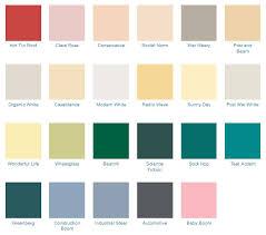 1950s exterior paint colors