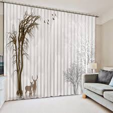 White Bedroom Blackout Curtains Online Get Cheap White Blackout Curtains Aliexpress Com Alibaba
