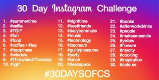 Challenge Instagram 30 Day Instagram Challenge Citysocializer Citysocializer
