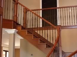 Wood Stair Banisters Stair Banisters Best U2014 Railing Stairs And Kitchen Design