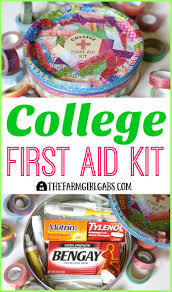 halloween care packages for college students college first aid kit the farm gabs