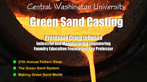 making green making green sand molds cwu casting video on vimeo