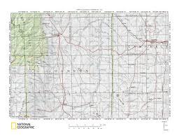 Sd Map Crazy Woman Creek Powder River Drainage Divide Landform Origins