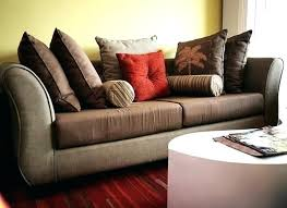 Living Room With Brown Leather Sofa Inspirational Sofa Accent Pillows For Throw Pillows For