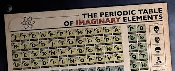 The Periodic Table Of Elements The Periodic Table Of Imaginary Elements Wired