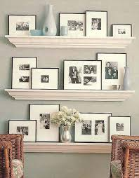 Wood Gallery Shelves by Best 25 Picture Shelves Ideas On Pinterest Picture Ledge Diy
