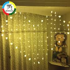 Red Heart Fairy Lights by Online Get Cheap Heart Garland Light Red Aliexpress Com Alibaba