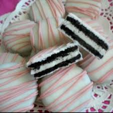 where can i buy white chocolate covered oreos baby shower cookies oreos dipped in melted white chocolate and