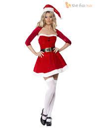 diamond halloween costume ladies fever miss santa costume womens christmas fancy