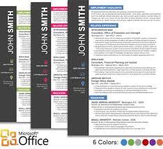 Microsoft Word Resume Templates Free Free Resume Template Microsoft Word Resume Templates And