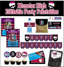 high party supplies awesome high party diy and printables