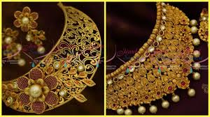 necklace design with price images Latest gold choker necklace design with price jpg