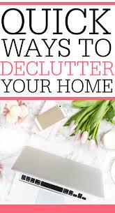quick ways to declutter frugally blonde