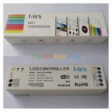 led strip lights wifi controller 2 4g wifi music led controller diy scene model dc12 24v for rgbw led