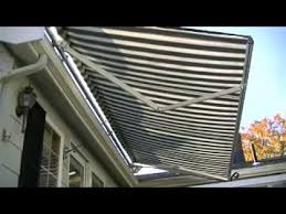 Awning Roof Mount Brackets Roof Mount Retractable Awning Youtube