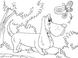 coloring page hunting dog img 22678