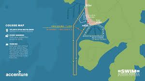 Lake Lanier Map Atlanta Open Water Swim Swim Across America