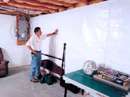cleanspace basement wall vapor barrier system in illinois and iowa