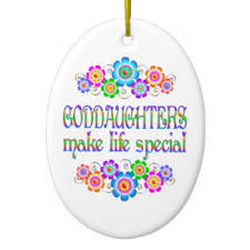 Goddaughter Christmas Ornaments Goddaughters Ornaments U0026 Keepsake Ornaments Zazzle