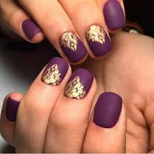 gold acrylic nail designs for 2017 new styles art nails