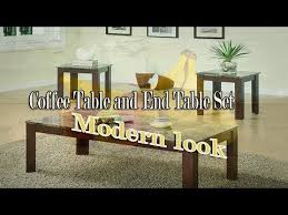 the best place to buy coffee table and end table set youtube