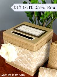 wedding gift card box how to make an easy wedding gift card box