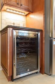 Mocha Kitchen Cabinets by Kitchen Cabinets With Wine Cooler U0026 Granite Countertops In Phoenix