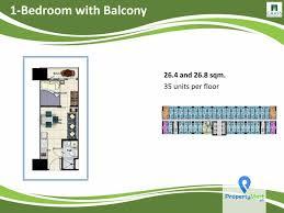 smdc grass residences berkshire 1 br with balcony propertymart ph