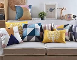 coussins canapé nordique décoratifs pour la maison canapé jette coussin couverture